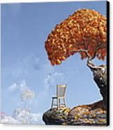 Leaf Peepers Canvas Print by Cynthia Decker