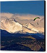 Leap Of Faith Canvas Print by James BO  Insogna