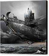 Led Zeppelin Excelsior Canvas Print by George Grie