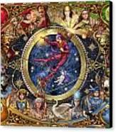 Legacy Of The Divine Tarot Canvas Print by Ciro Marchetti