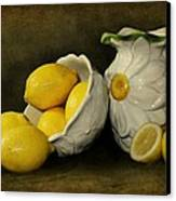 Lemons Today Canvas Print by Diana Angstadt
