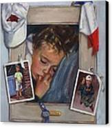 Leo Canvas Print by Vicki Ross