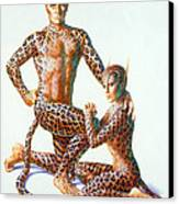 Leopard People Canvas Print by Andrew Farley
