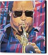 Leroi Moore And 2007 Lights Canvas Print by Joshua Morton