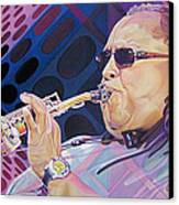 Leroi Moore Canvas Print by Joshua Morton