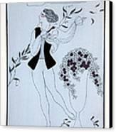 Les Sylphides Canvas Print by Georges Barbier