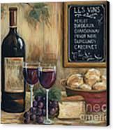 Les Vins Canvas Print by Marilyn Dunlap