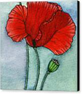 Lest We Forget Canvas Print by Nora Blansett