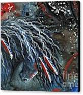 Let Freedom Run Majestic Series #71 Canvas Print by AmyLyn Bihrle