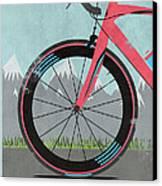 L'etape Du Tour Bike Canvas Print by Andy Scullion