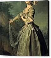 Levitskidmitri Grigorievich 1735-1822 Canvas Print by Everett