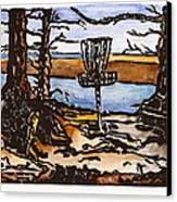 Lewisville Lake Hole Three Canvas Print by Jason Reid