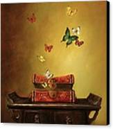 Liberation - Tibetan Dream Canvas Print by Lori  McNee