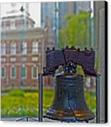 Liberty Bell Canvas Print by Tom Gari Gallery-Three-Photography