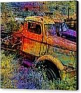 Liberty Truck Abstract Canvas Print by Robert Jensen