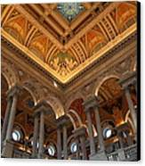 Library Of Congress - Washington Dc - 011314 Canvas Print by DC Photographer