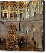 Library Of Congress - Washington Dc - 011315 Canvas Print by DC Photographer