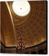 Library Of Congress - Washington Dc - 01133 Canvas Print by DC Photographer