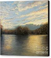 Light At The End Of The Day Canvas Print by Kiril Stanchev