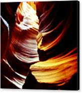Light From Above - Canyon Abstract Canvas Print by Aidan Moran