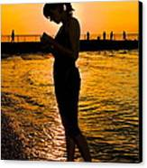 Light Of My Life Canvas Print by Frozen in Time Fine Art Photography