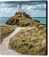 Lighthouse Path Canvas Print by Adrian Evans