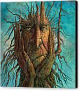 Lightninghead Canvas Print by Frank Robert Dixon
