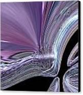 Like A Drop In The Splash Canvas Print by Jeff Swan