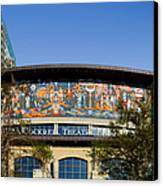 Lila Cockrell Theatre - San Antonio Canvas Print by Christine Till
