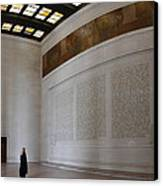 Lincoln Memorial - Washington Dc - 01132 Canvas Print by DC Photographer