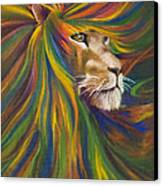Lion Canvas Print by Kd Neeley