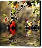 Liquidambar In Flood Canvas Print by Avalon Fine Art Photography