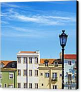Lisbon Houses Canvas Print by Carlos Caetano