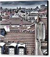 Lisbon Rooftops I Canvas Print by Marco Oliveira