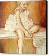 Little Ballerina Canvas Print by Carole Spandau