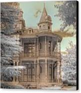 Littlefield Mansion Canvas Print by Jane Linders