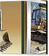 Loader - Cross Your Eyes And Focus On The Middle Image Canvas Print by Brian Wallace