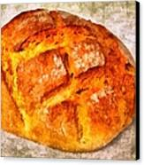 Loaf Of Bread Canvas Print by Matthias Hauser
