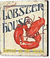 Lobster House Canvas Print by Debbie DeWitt