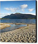 Loch Lomond Pano Canvas Print by Jane Rix