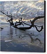 Loch Ness Canvas Print by Debra and Dave Vanderlaan