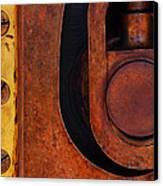 Lock Down Canvas Print by Skip Hunt