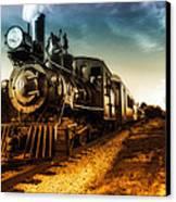 Locomotive Number 4 Canvas Print by Bob Orsillo