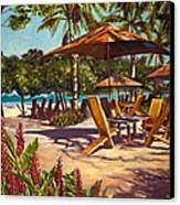 Lola's In Costa Rica Canvas Print by Christie Michael