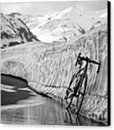 Lonely Bike Canvas Print by Maurizio Bacciarini