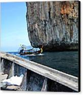 Long Boat Tour - Phi Phi Island - 0113124 Canvas Print by DC Photographer