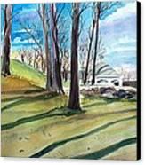 Long Shadows Canvas Print by Scott Nelson