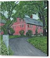 Longfellow's Wayside Inn Canvas Print by Cliff Wilson