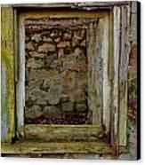 Looking Through Canvas Print by Jeffrey J Nagy