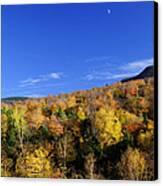 Loon Mountain Foliage Canvas Print by Luke Moore